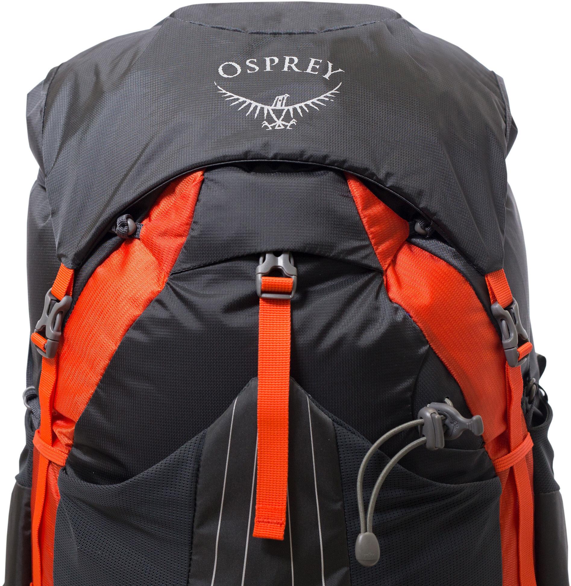 c7ec84c502 Osprey Exos 58 - Sac à dos Homme - noir sur CAMPZ !